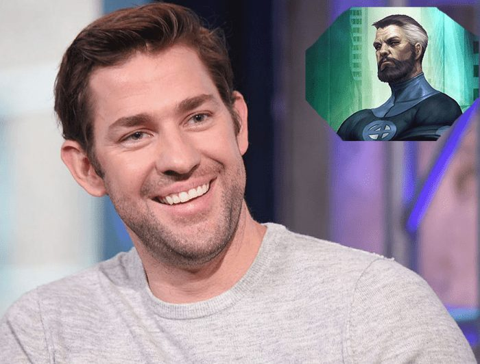 "Krasinski on the possibility of playing Reed Richards in MCU: ""I would love to do it"""
