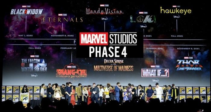 Marvel Studios will benefit from the Phase 4 delay