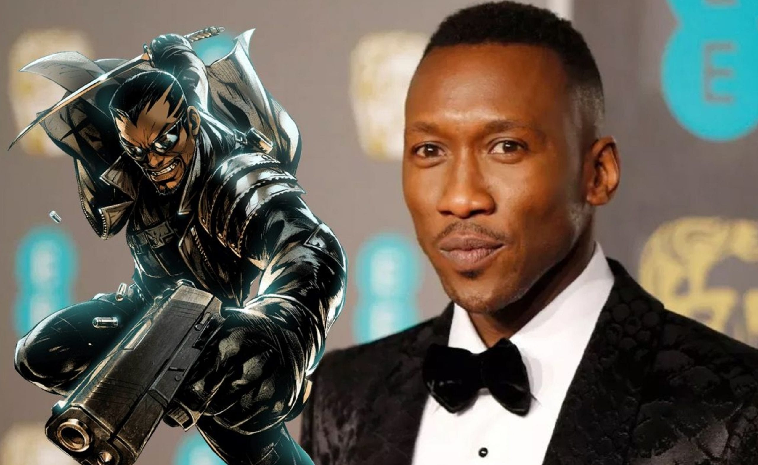 Mahershala Ali shares new artwork of him as Blade