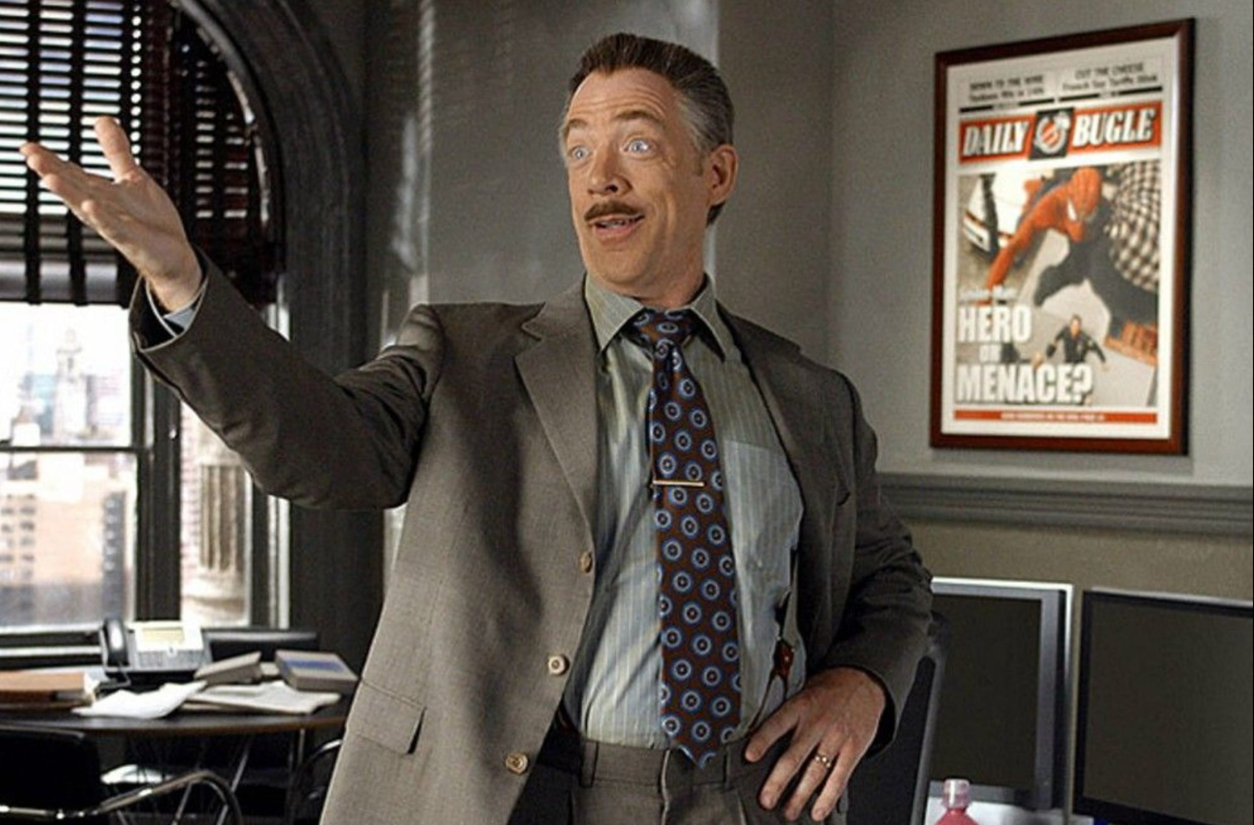 J.K. Simmons says his next J. Jonah Jameson appearance has already been filmed