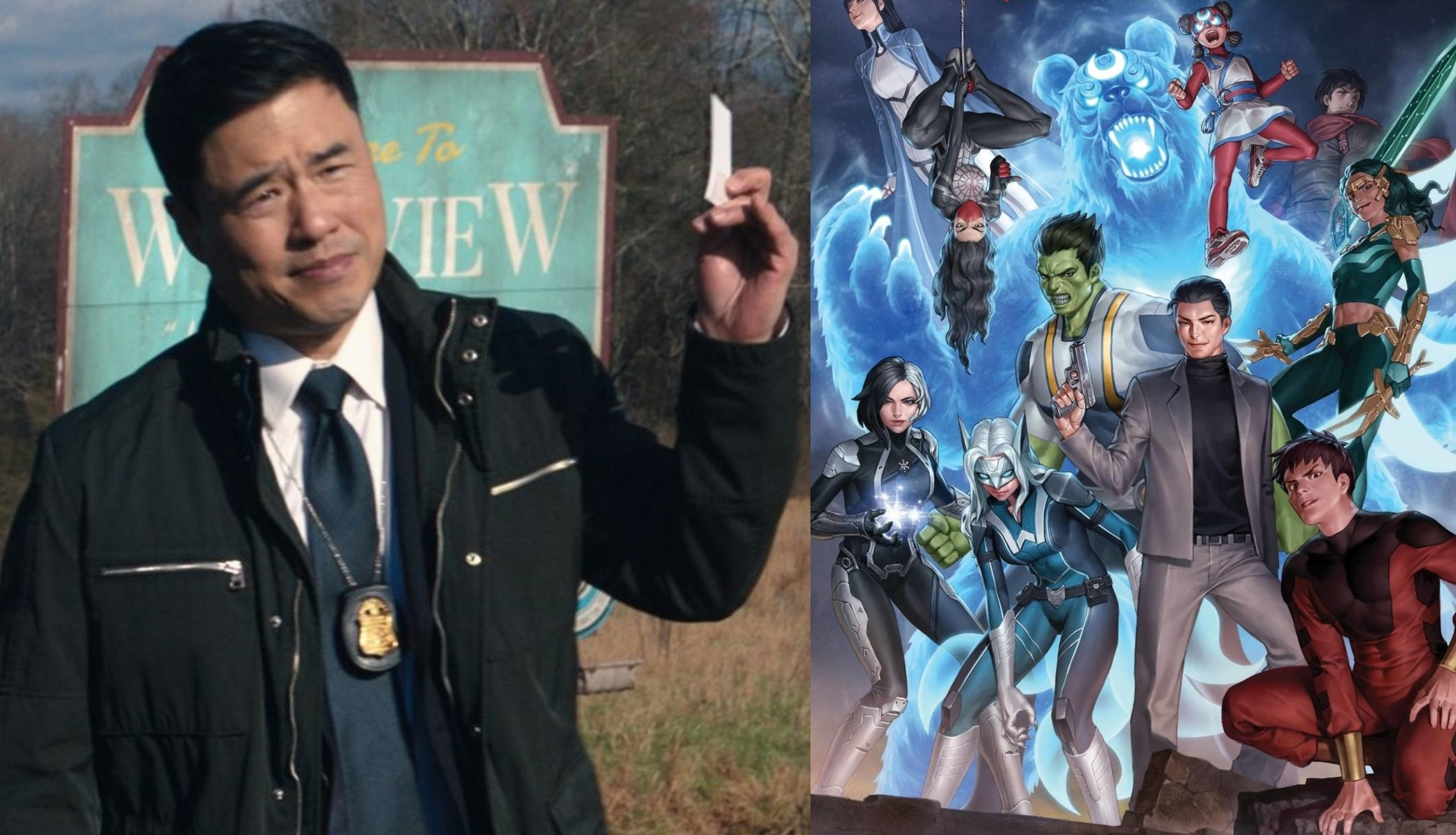 "Randall Park says starring in a Agents of Atlas series would be a ""dream come true"""